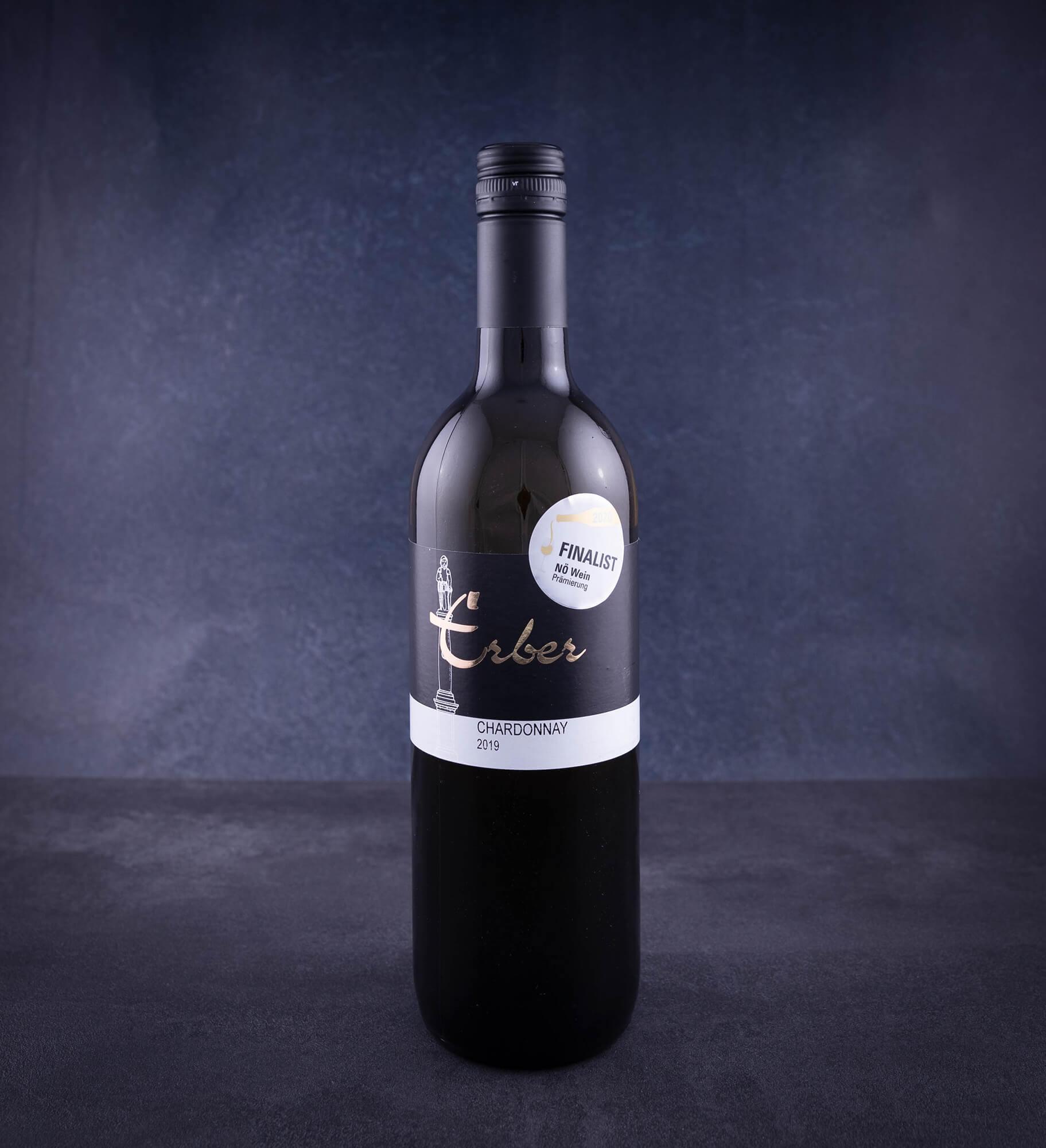 Chardonnay, Weißwein, Weingut Erber, Österreich,  0,75l