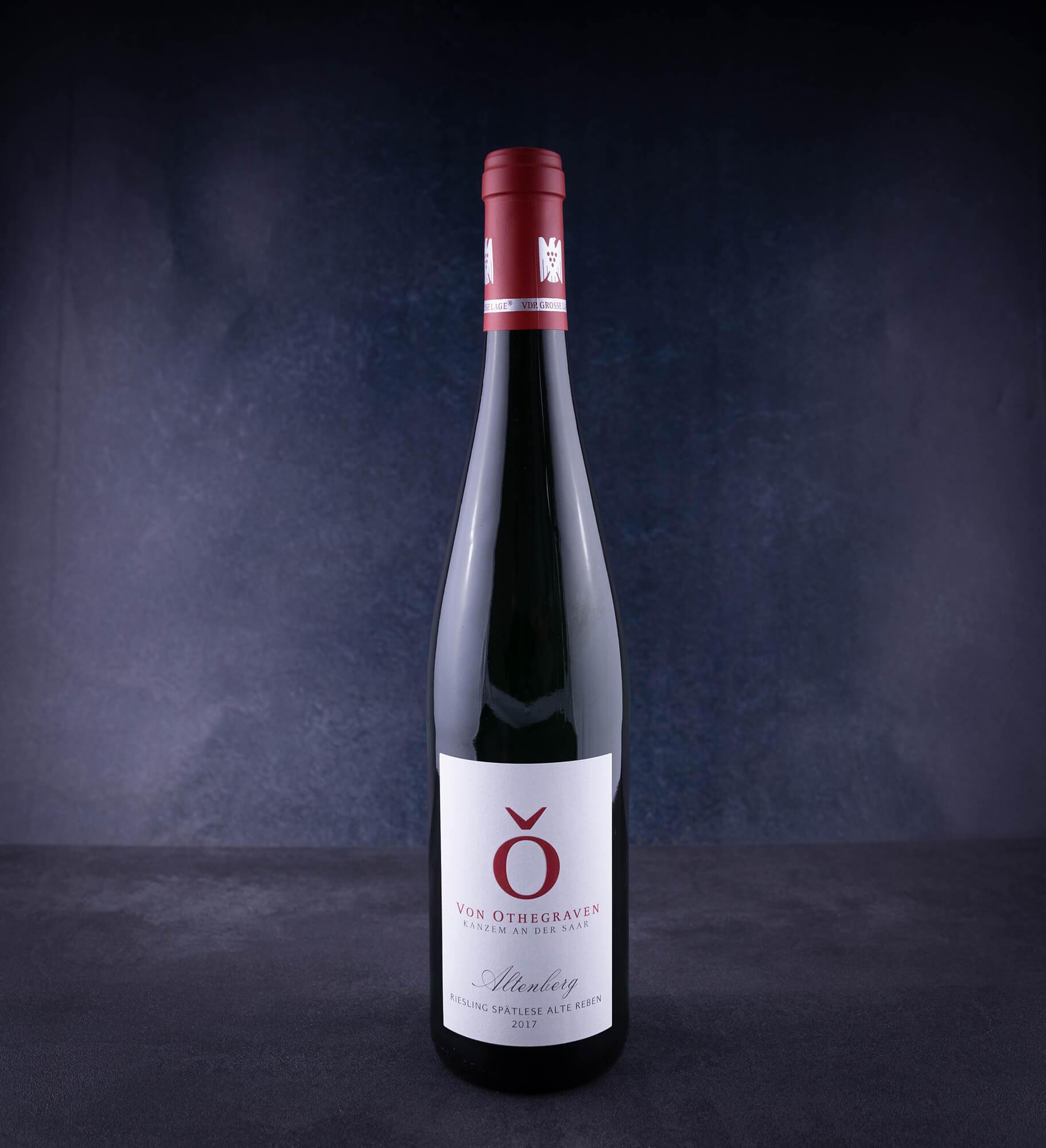 Altenberg Riesling, Spätlese Alte Reben,Weißwein, Weingut von Othegraven, Deutschland, 0,75l